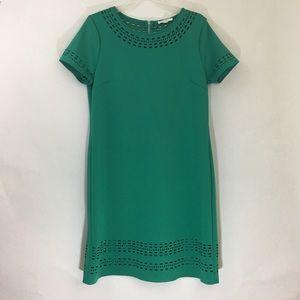 Spense Green Scuba Dress Size 14 EUC